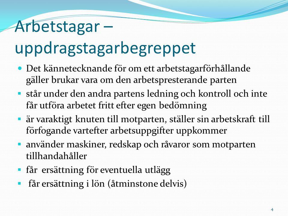 Några karakteristiska drag i svensk arbetsrätt Hög organisationsgrad och liten organisationssplittring Kollektivavtalet som regleringsinstrument Vidsträckt facklig stridsrätt Rätten att vidta sympatiåtgärder är långtgående Relativt hög social skyddsnivå (anställningsskydd) men inte extremt hög i förhållande till vissa andra länder 5