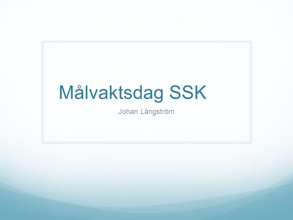 Målvaktsdag SSK Johan Långström