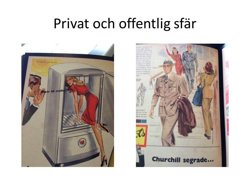 Privat och offentlig sfär