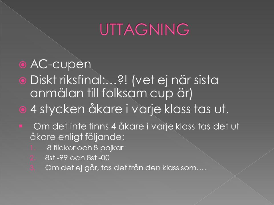  AC-cupen  Diskt riksfinal:…?.