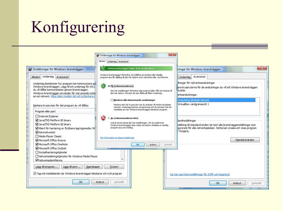 Konfigurering