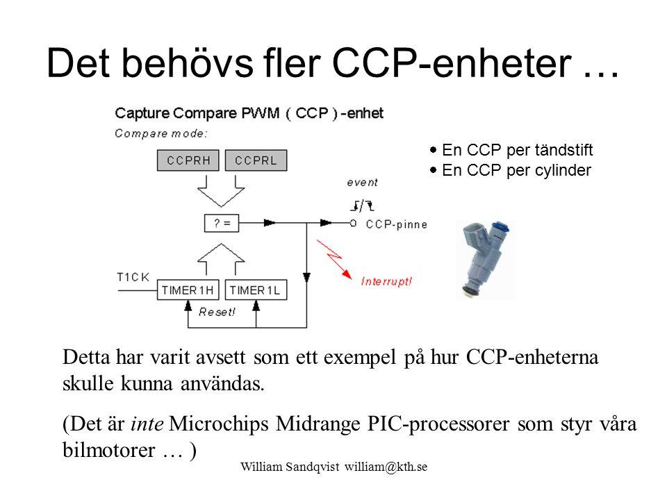 William Sandqvist william@kth.se Det behövs fler CCP-enheter … Detta har varit avsett som ett exempel på hur CCP-enheterna skulle kunna användas. (Det