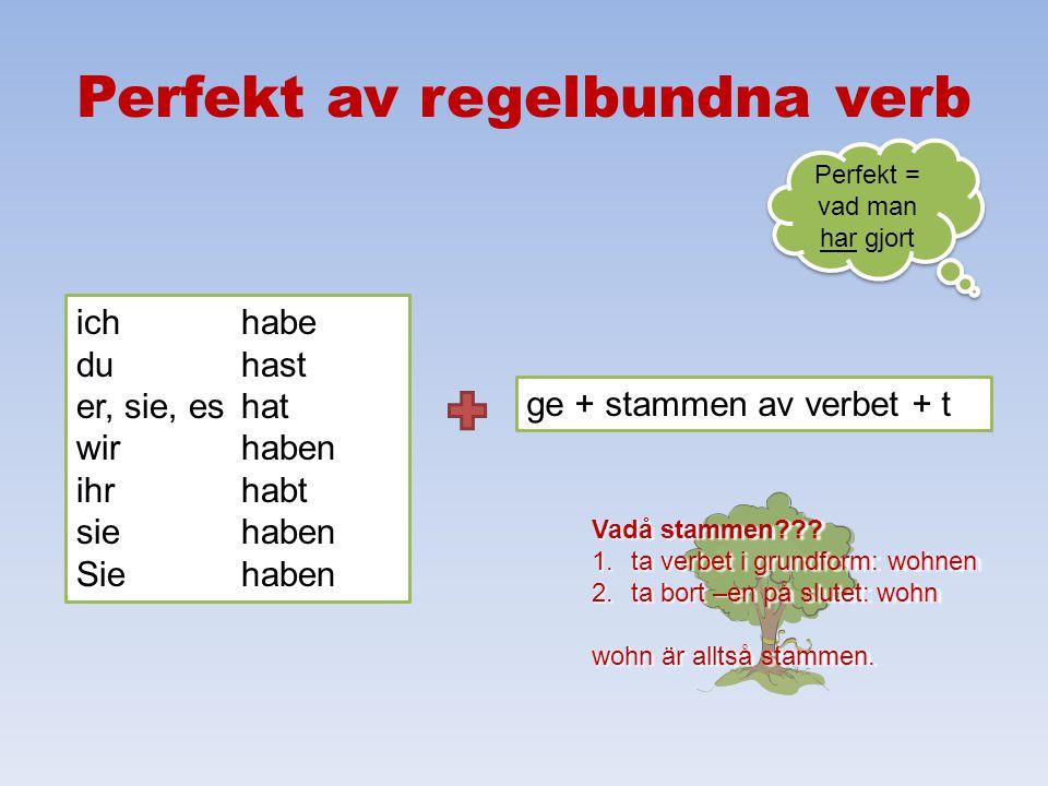 Prepositioner med dativ, forts. maskulinumfemininumneutrumplural nominativ der ein die eine das ein die ackusativ den einen die eine das ein die dativ