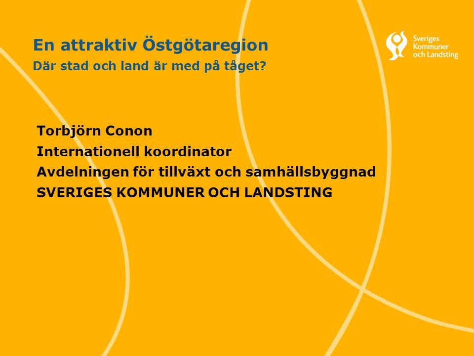 Svenska Kommunförbundet och Landstingsförbundet i samverkan 12 Vad gör en region framgångsrik.
