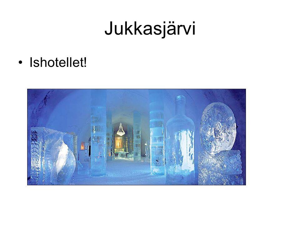 •Ishotellet! Jukkasjärvi