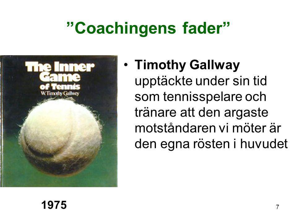"""7 """"Coachingens fader"""" •Timothy Gallway upptäckte under sin tid som tennisspelare och tränare att den argaste motståndaren vi möter är den egna rösten"""