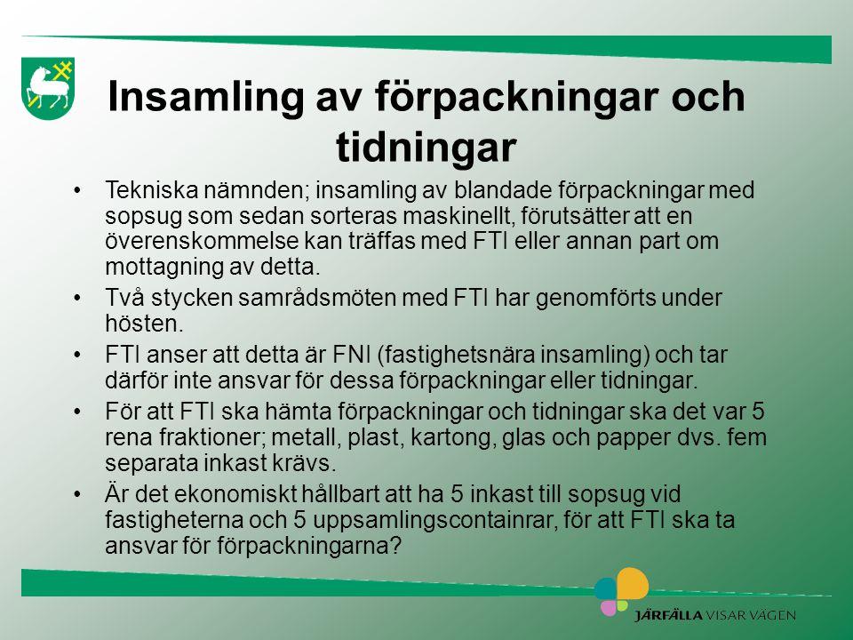 juni 2014 Sid 8 Problematik •Hög investeringskostnad, kommer den att tjänas in i Barkarbystaden, innan upprustning behövs.