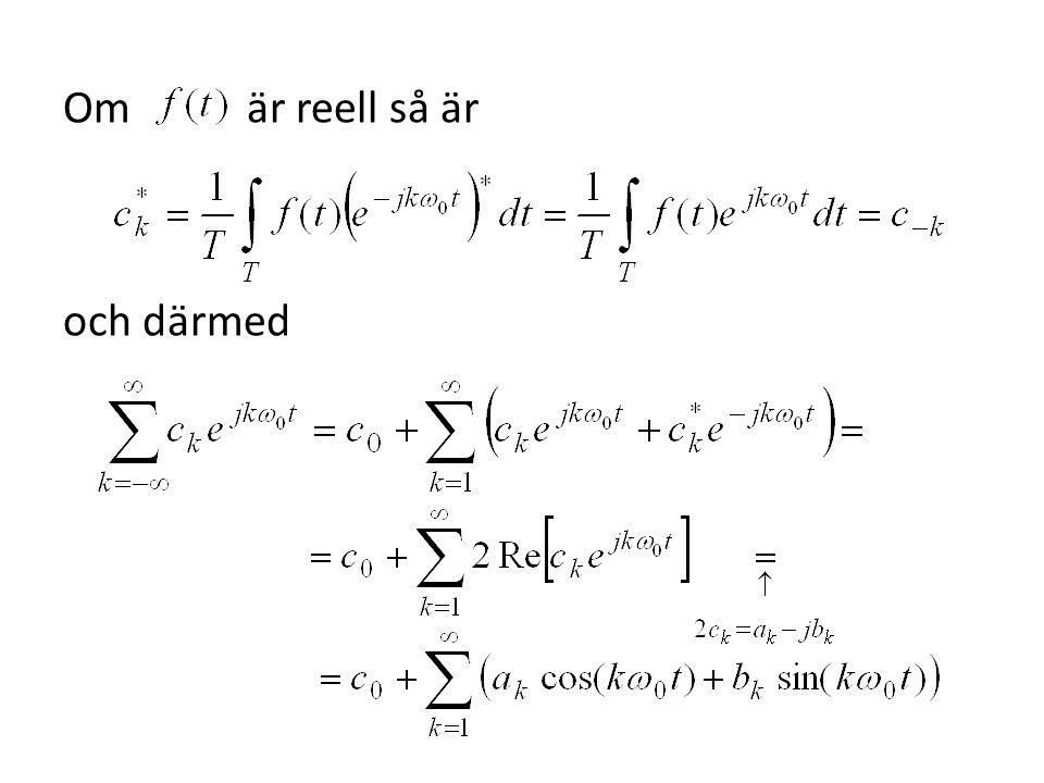 Om man vill kan man först utvidga till en jämn funktion på intervallet och därefter utvidga denna jämna funktion till en periodisk funktion med perioden.