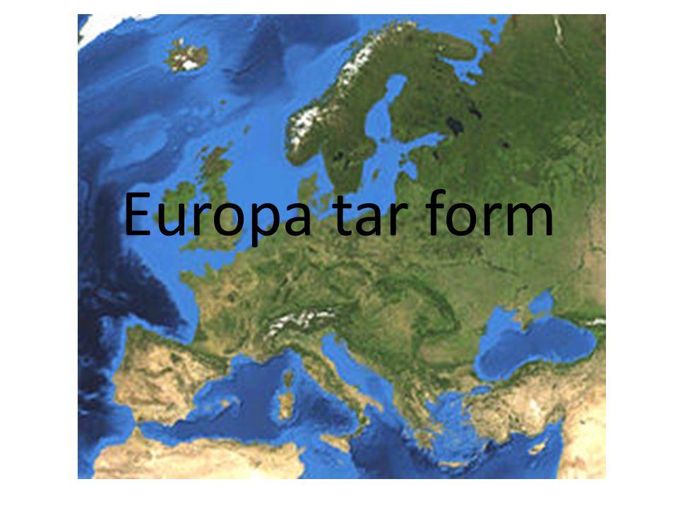Europa tar form
