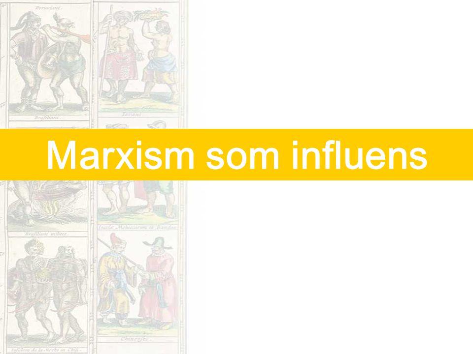 Marxism som influens