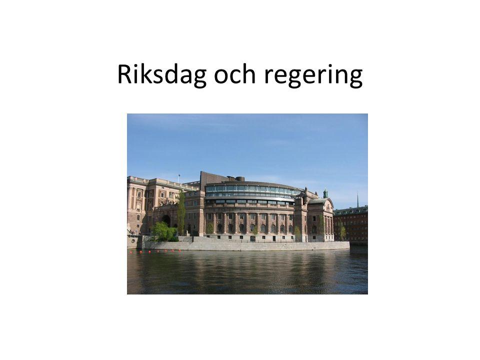 Riksdag och regering