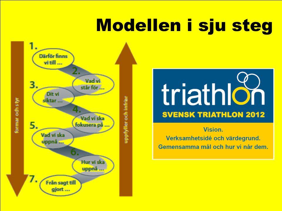 Modellen i sju steg