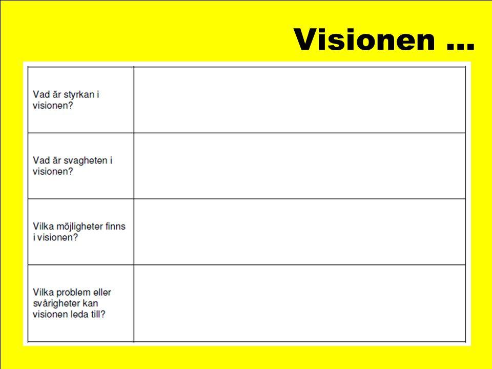 Verksamhetsområde och mål…
