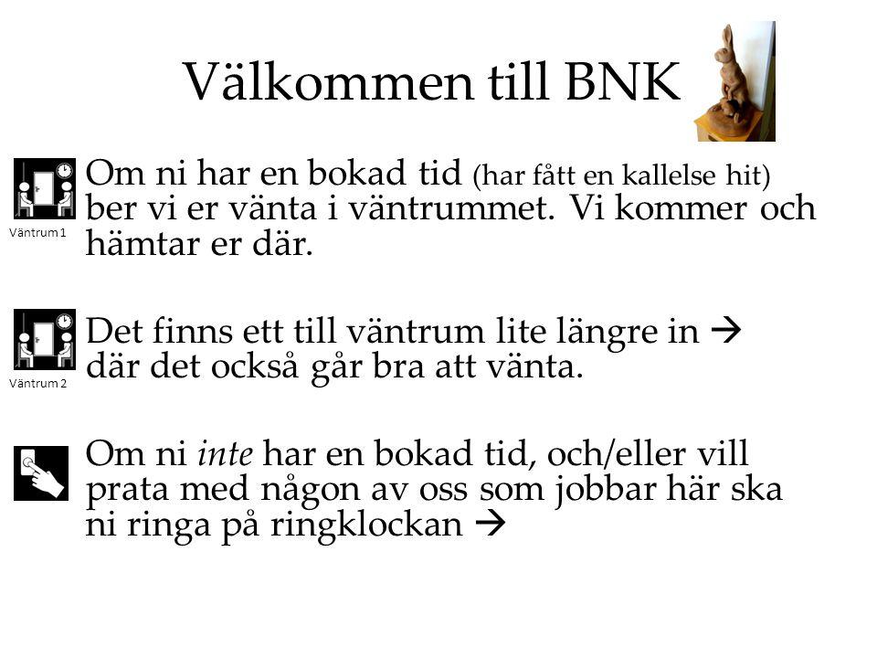 Välkommen till BNK.