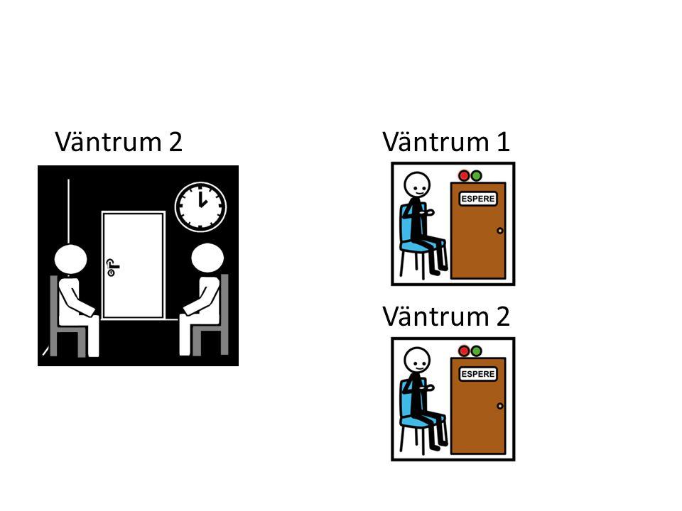 Väntrum 2Väntrum 1 Väntrum 2