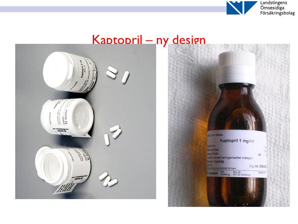 Kaptopril – ny design