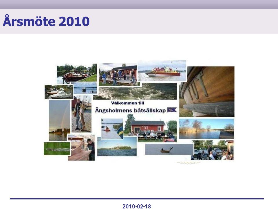 Verksamheten 2009ValVerksamheten 2010MiljöAgendaÖvrigt 2010-02-18 Årsmöte 2010