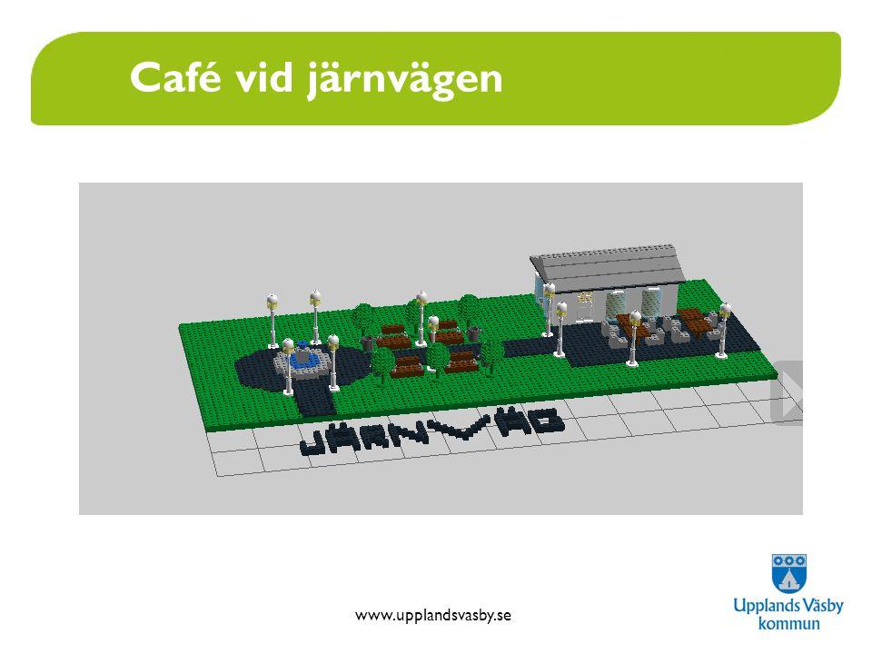 www.upplandsvasby.se Café vid järnvägen