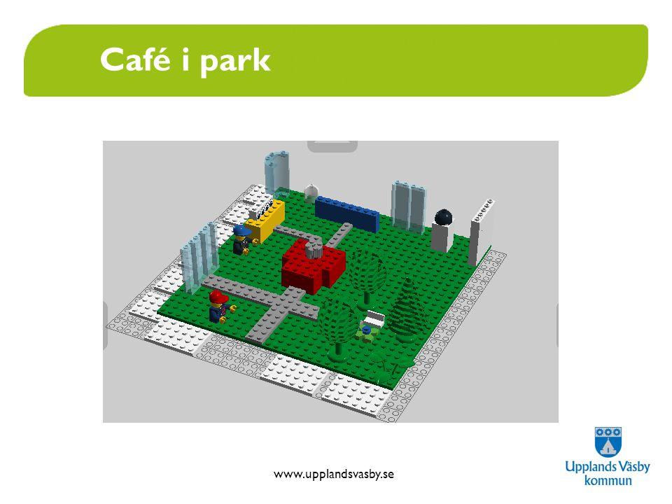 www.upplandsvasby.se Café i park