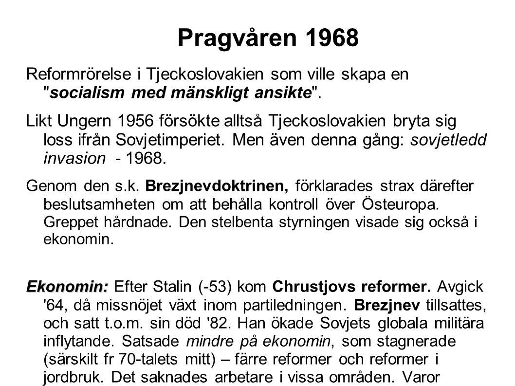 Norden under det kalla kriget Danmark och Norge anslöt sig till NATO.