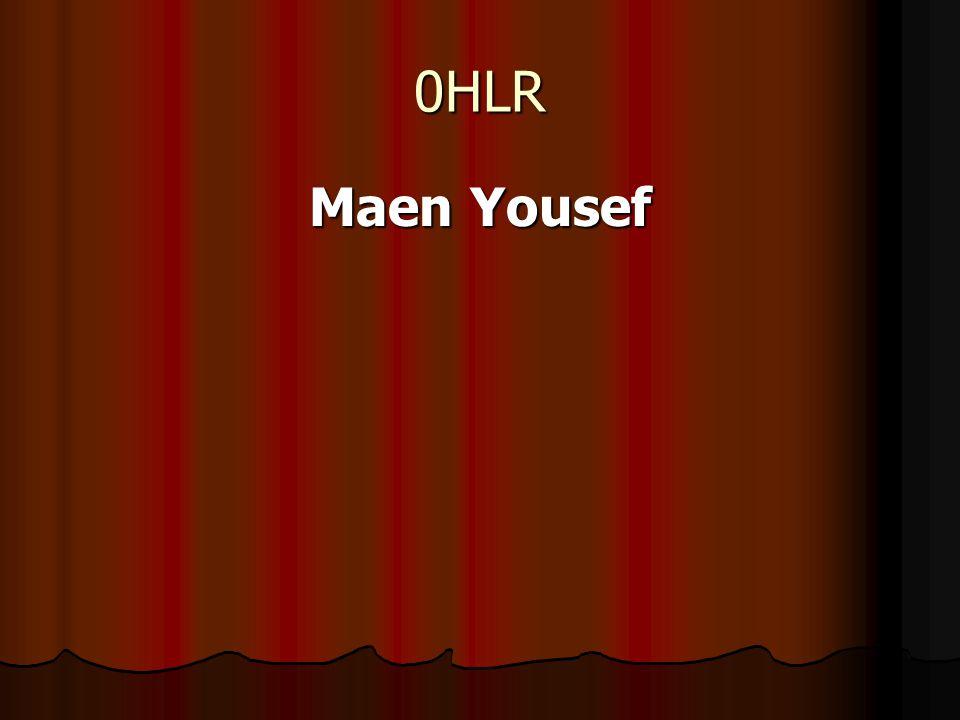 0HLR Maen Yousef
