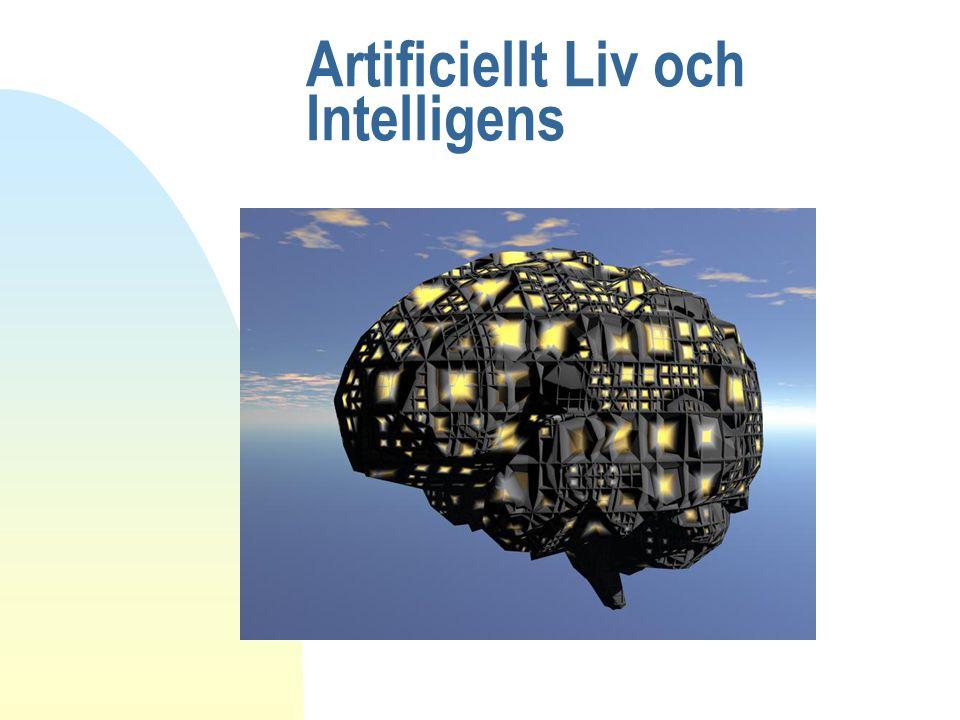 Artificiell intelligens n Att bygga tänkande maskiner är en uråldrig tanke n Kan datorer tänka.