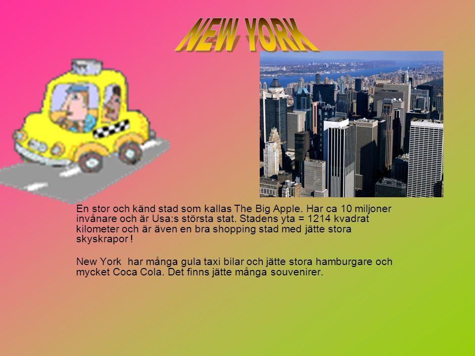 •Broadway är en väldigt känd gata och ligger i New York (Manhattan).