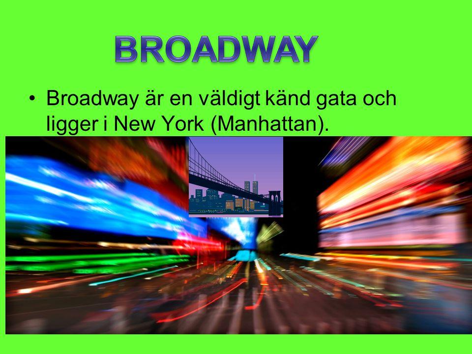 •Brooklyn Bridge är en stor bro som går till Manhattan från Brooklyn.
