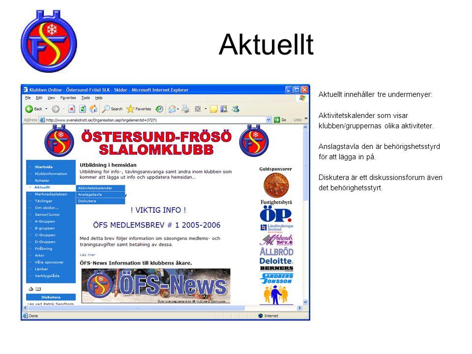 Anslagstavla & Köp & Sälj (4/8) Vid nya inlägg så visas följande bild.