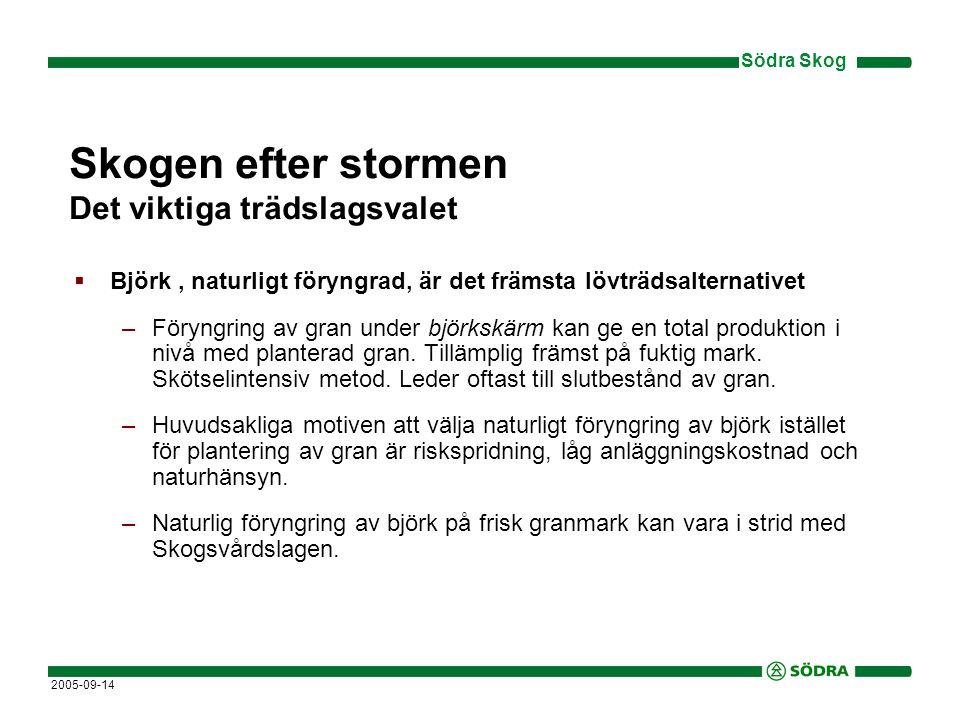 Södra Skog 2005-09-14