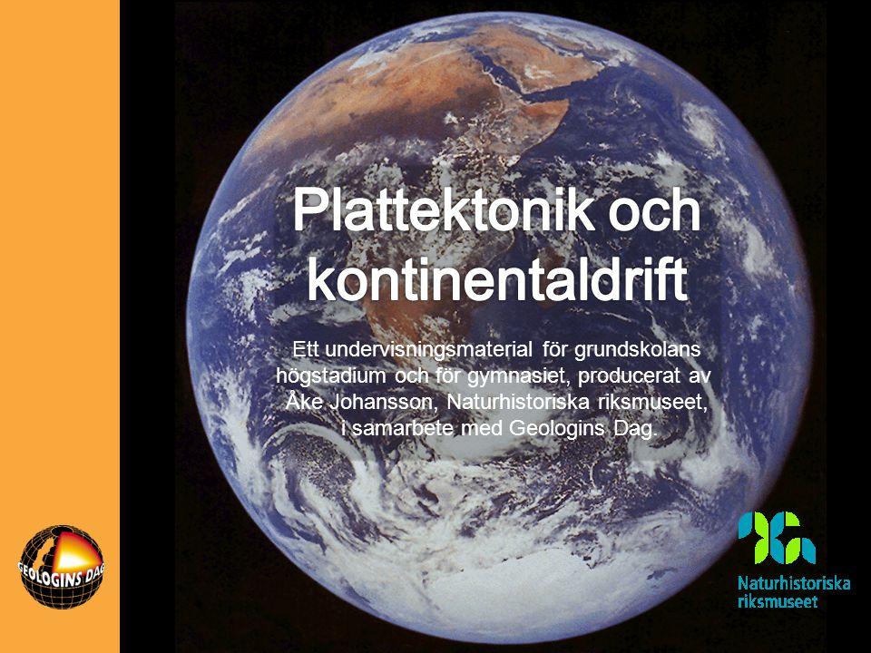 Ett undervisningsmaterial för grundskolans högstadium och för gymnasiet, producerat av Åke Johansson, Naturhistoriska riksmuseet, i samarbete med Geol
