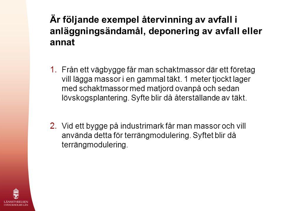 Avfallshirarkin 1.Avfallsminimering 2. Återanvändning 3.
