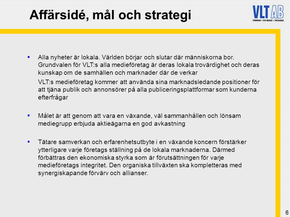 37 Av Herenco AB och Lejonälvan AB föreslagen styrelseledamot  Stig Fredriksson: VD för Herenco AB och med ett flertal styrelseuppdrag inom Herenco- gruppen.