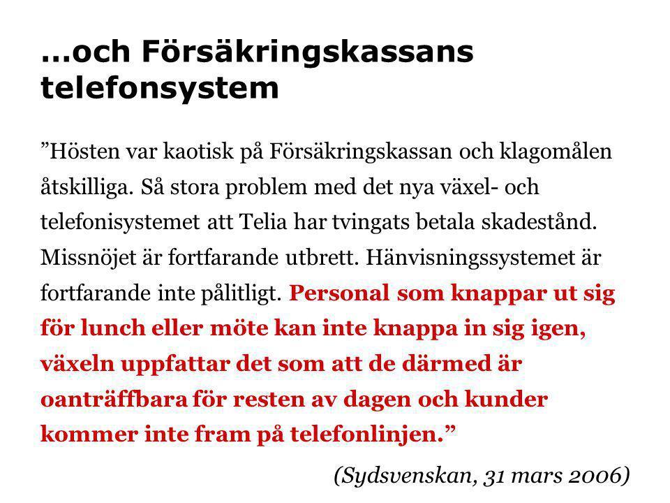 Läs mer •Fastna inte i datorfällorna (Du&Jobbet, juni 2006) •Användarovänliga system gör oss sjuka.