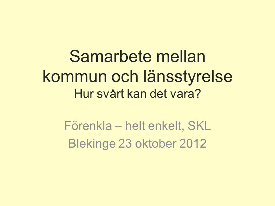 www.lansstyrelsen.se Vårt uppdrag Länsstyrelsens uppdrag är att arbeta för en utveckling där miljö, tillväxt och goda levnadsvillkor går hand i hand.
