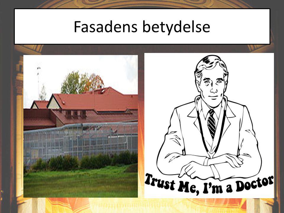 Fasadens betydelse