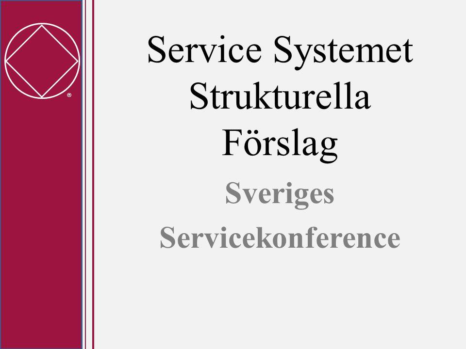  Lokal Service Relevans för Sverige • Lokal Service Enhet: Planeringsmöten kvartalsvis med alla närvarande; grupprepresentanter, projektgrupper, samordnare, LSE admin, delegater till nästa nivå • LSE Admin: Kan vara en Lokal Service Styrelse som träffas varje månad och har uppsikt över projekt och arbetsgrupper