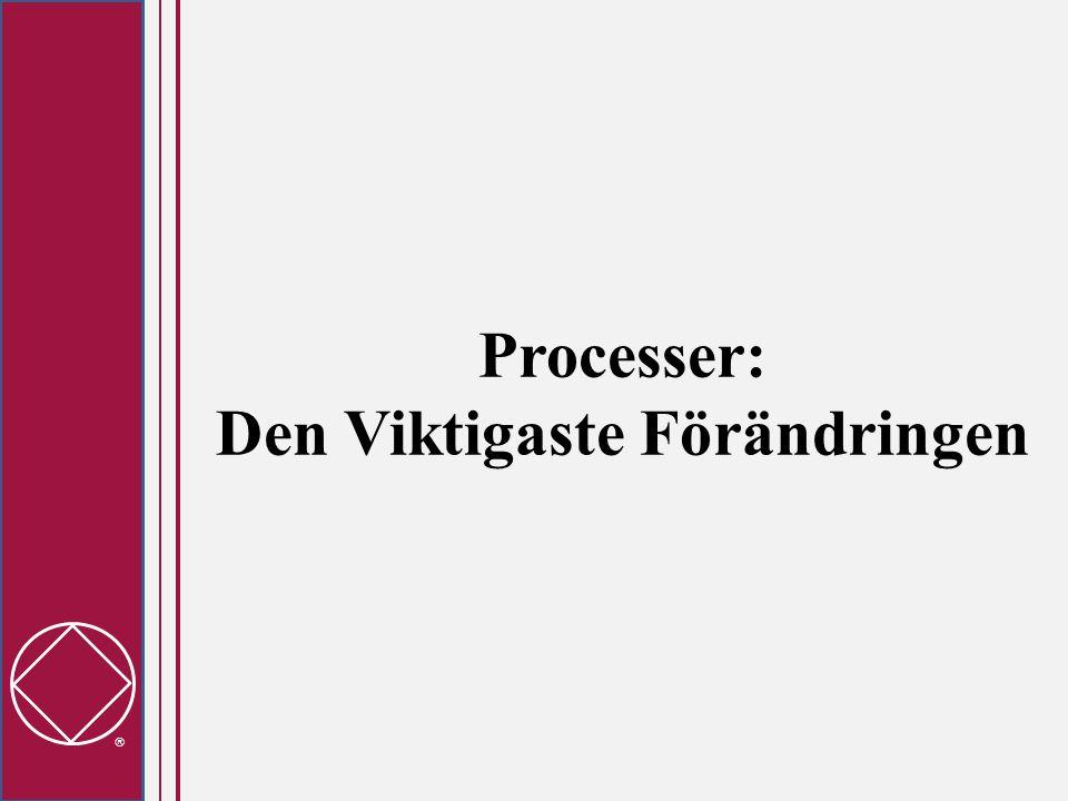  Processer: Den Viktigaste Förändringen