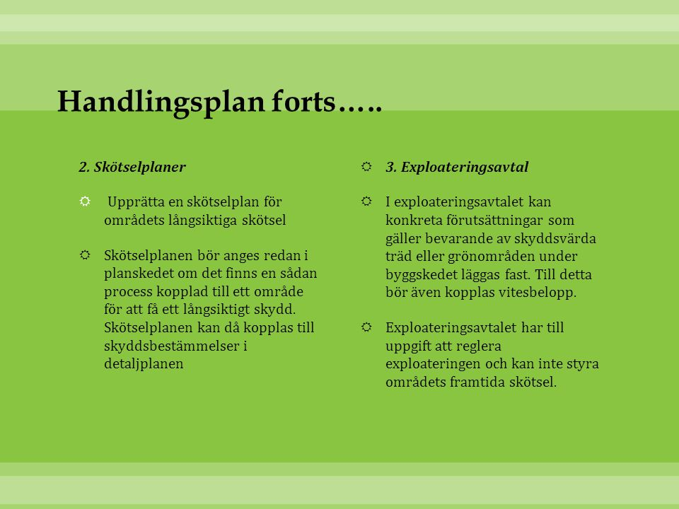 Handlingsplan forts…..2.