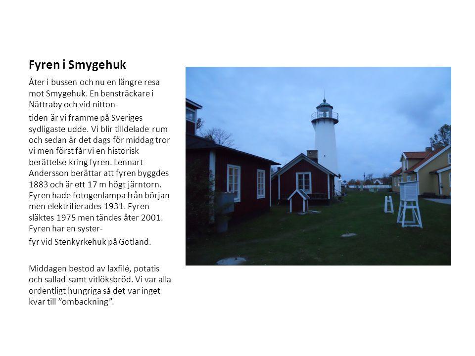 Tullstorpsåns projekt presenteras Torsdagen den 25 oktober 2012.