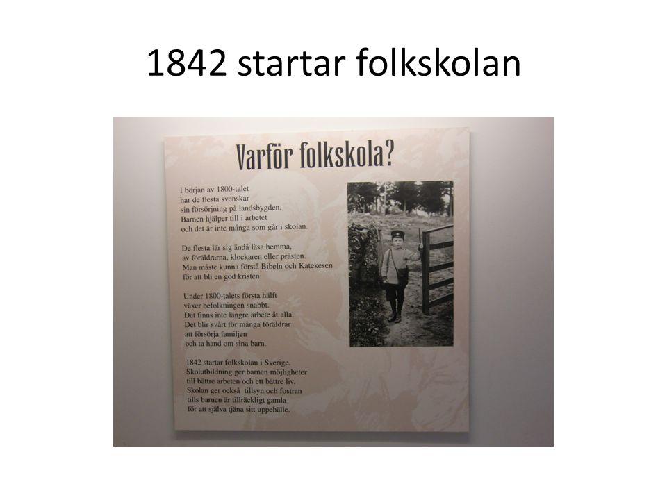 1842 startar folkskolan
