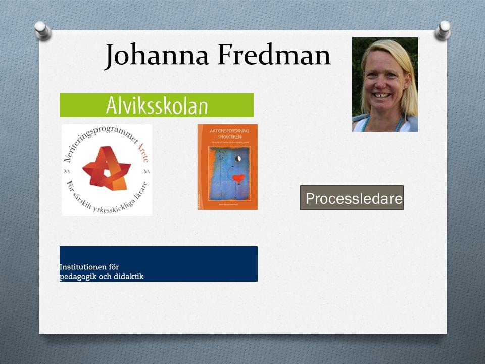 Johanna Fredman Processledare