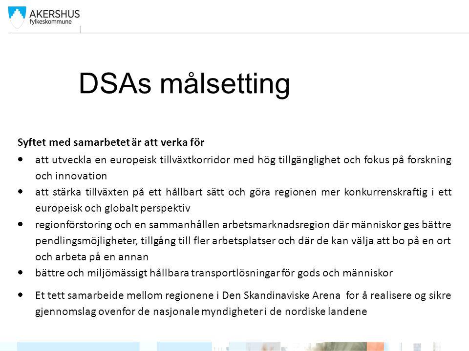 DSA-Oppfølging av Nordisk Triangel «Det Nordiske Triangel» ble lansert av de nordiske regjeringer i 1996 som et ledd i innspill til utformingen av «TransEuropian Network»(TEN-T).