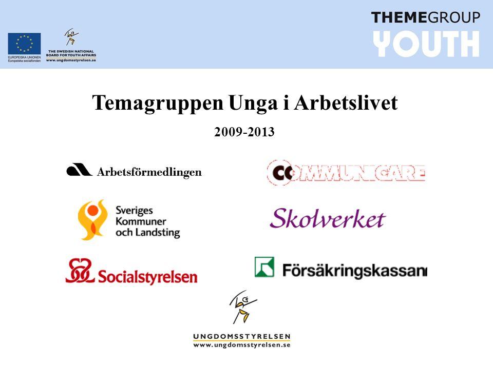 Temagruppen Unga i Arbetslivet 2009-2013