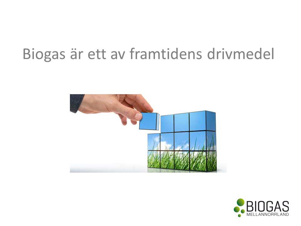 Biogas är ett av framtidens drivmedel