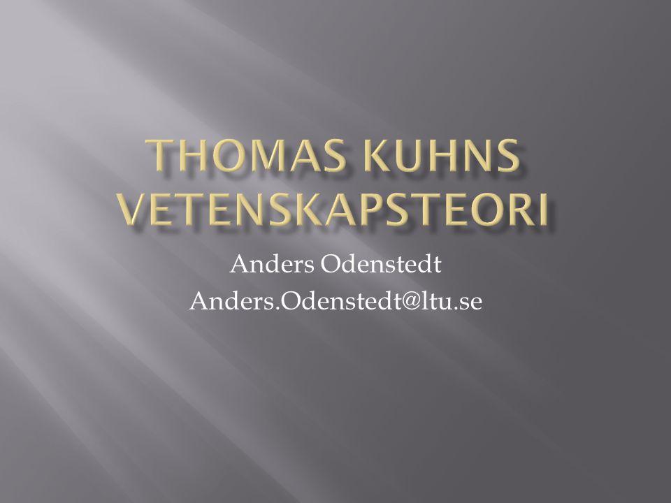Anders Odenstedt Anders.Odenstedt@ltu.se