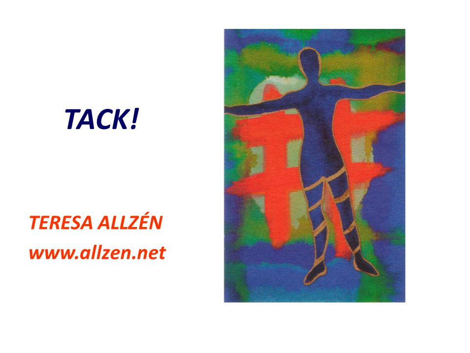 TACK! TERESA ALLZÉN www.allzen.net