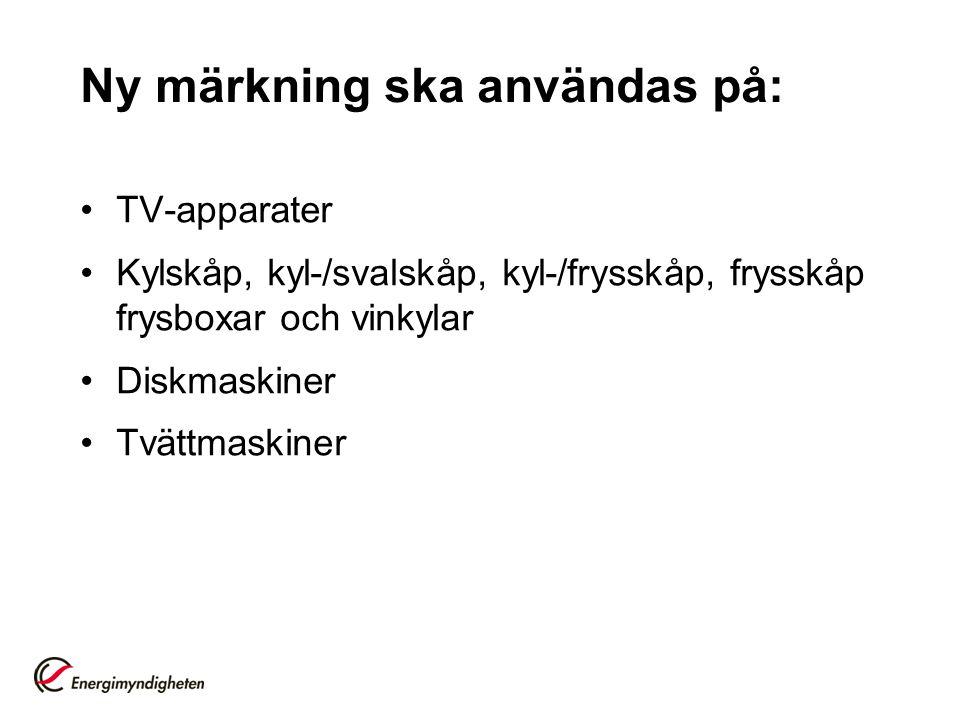 Vad krävs.•Statens energimyndighets författningssamling STEMFS 2005:5.