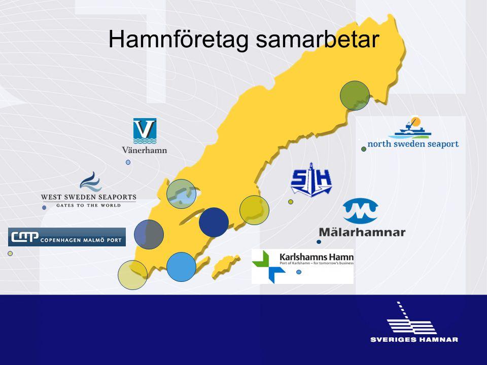 •Luleå hamn Hamnföretag samarbetar