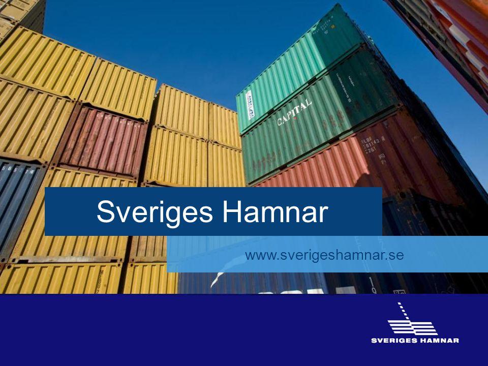 16 Sveriges Hamnar www.sverigeshamnar.se